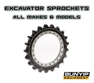 EXCAVATOR DRIVE SPROCKET TO SUIT ALL MAKES - KUBOTA BOBCAT CASE YANMAR