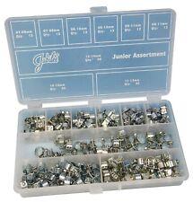 Jubilee 165 Piece Mild Steel Junior Mini Fuel Clip Assorted pack