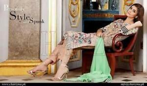 Indian Pakistani Designer Salwar Kameez Original Charizma chiffon design 30