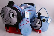 Pottery Barn Kids Thomas the Train puffy blue Halloween costume & treat bag 3T