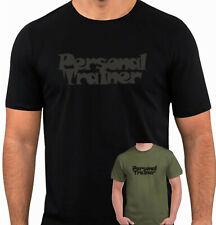 Entrenador Personal T-Shirt Gimnasio Fitness Entrenamiento MMA Entrenamiento de Elevación de instructor (AA)