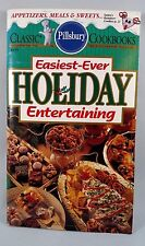 1994 Pillsbury Cookbook Booklet EASIEST-EVER HOLIDAY ENTERTAINING Recipes +Gifts