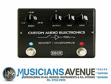 MXR MXC-402 CUSTOM AUDIO ELECTRONICS - BOOST/OVERDRIVE EFFECTS PEDAL