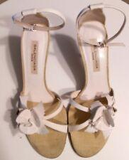 Sandalias blancas con tacon Balenciaga