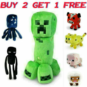 MINECRAFT Creeper Plush Teddy Toys Gifts Plush toys My world 25cm Oversized new