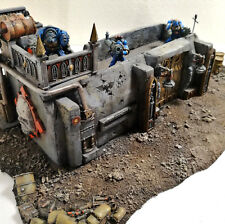 """WARHAMMER 40K SCENERY-TERRAIN """" BUNKER """" PRO PAINTED LIMITED EDITION"""