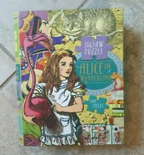 Alice In Wonderland 500 Piece Jigsaw Puzzle Book Style