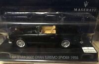 """DIE CAST """" MASERATI 2000 GRAN TURISMO SPYDER - 1955 """" MASERATI COLLECTION 1/43"""