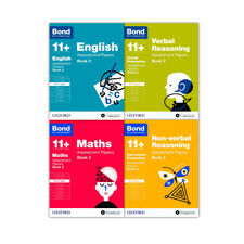 More details for bond 11+ 4 books set ages 10-11 years assessment & tests maths english book 2