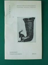 Antiquariat Jürgen Schomaker Katalog 25 Kunstwisssenschaft Archäologie  B-16941