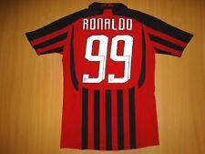 AC MILAN #99 RONALDO 2007 2008 MAILLOT shirt jersey HOME camiseta  S