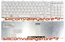 Tastiera ITA MP-09N16IO-6981 Bianco Toshiba Satellite L650-ST3N02X L650-ST3NX1
