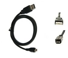 1M Micro USB Data Transfer Cable Lead for A1CS Fusion5, Xtra, X220 Android Table