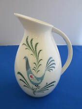 LENOX Blue Bird 24 Ounce Pitcher, Green Backstamp, Made in USA
