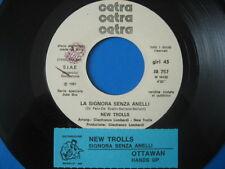 "NEW TROLLS ""Signora senza anelli"" - RARO 45PR0M0 JB + STICK!!"