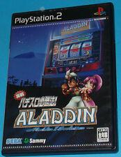 Jissen Pachi-Slot Hisshouhou! Aladdin 2 - Sony Playstation 2 PS2 Japan - JAP
