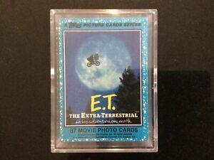 ET Full Set Of 87 Movie Photo Cards - Topps 1982