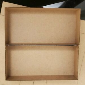 """Athearn reproduction laser cut 7.5"""" yellow blue style box assembled"""