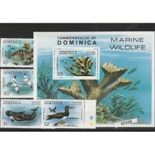 DOMINIQUE 1979 POISSONS 6 VAL MNH MF53328