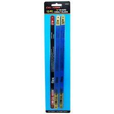 "12"" Flex Bi-Hard Cobalt Hacksaw Blades 12pc 18, 24 & 32 TPI Teeth Saw Blade NEW"