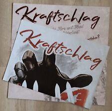 """Rock O Rama KRFTSCHL """"Festung Eu"""" LP compilation (black vinyl LTD 210) ISD Faust"""