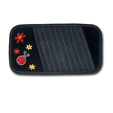 New CD Visor Organizer Cute Lady Bug and Flowers Design For Auto Nature Theme