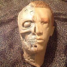 VTG '91 TERMINATOR 2 LATEX RUBBER MASK -Halloween Costume Full Face Head Cyborg