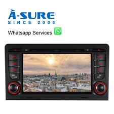 """7"""" Autoradio DVD GPS 2018Navi BT für Audi A3 RS3 S3  8P 8V 8PA DAB+ Lenkrad+LED"""