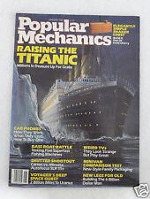 Popular Mechanics January 1986 Raising The Titanic