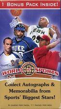 2009-2010 UPPER DECK WORLD OF SPORTS BOX-POS.MICHAEL JORDAN-LJAMES-T.WOODS AUTOS