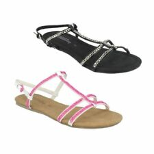 Buckle Casual Strappy Sandals & Flip Flops for Women