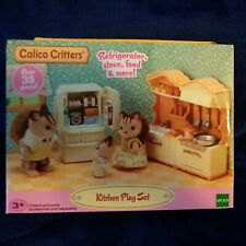 Calico Critters Kitchen Play Set Furniture Set With Accessories  CC1810 New