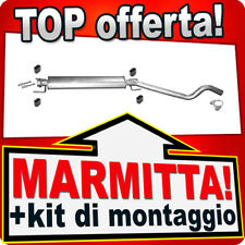 Silenziatore Centrale OPEL ASTRA H TwinTop (L67) 2.0 Marmitta AFM