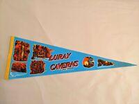 Luray Caverns Virginia Felt Pennant Vintage Souvenir Flag VA
