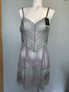 Wacoal Embrace Lace Chemise Size L in (Quiet Shade/ether) $62