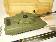 Rare Vintage Dinky Toys 683 British Chieftain Tank with Base, Lid & Shells.