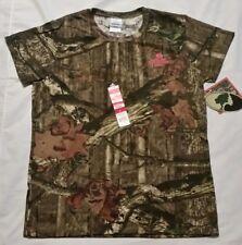 Mossy Oak Break-up Infinty Women's Camouflage Short Sleeve T-Shirts, Size Large