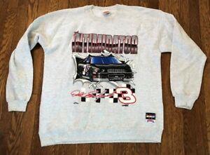 Vintage Dale Earnhardt Nutmeg Mills Nascar Racing Sweatshirt Size XL