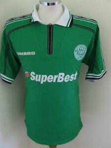 RARE Jersey LOT soccer football Viborg Denmark umbro FF green men SuperBest