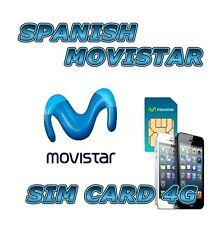 Movistar 4G LTE español tarjeta SIM de prepago internet España