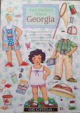 Mary Engelbreit Mag. Paper Doll, GEORGIA, Aug./Sept. 1999, Uncut