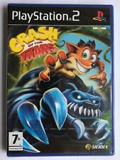 PS2 Crash of the Titans (2007), UK Pal, Brand New & Factory Sealed