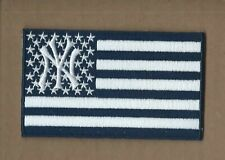 NEW 2 3/8 X 4 INCH NEW YORK YANKEES FLAG IRON ON PATCH FREE SHIP P1