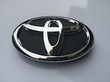 2009-2013 TOYOTA COROLLA FRONT GRILL BLACK & CHROME GRILLE EMBLEM 75301-02010