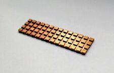 NGFF M.2 Kühler Heat Sink 3mm dick | Kupfer | Copper | für SSD | 2280 | Neu New