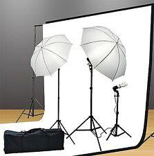 Fancier UL105 6x9 BWGStudio Lighting Kit 1000 Watt Lighting Kit With Backdrop...