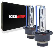 6000K Super White D2R D2C D2S Xenon HID Direct Low Beam Socket Light Bulbs I61