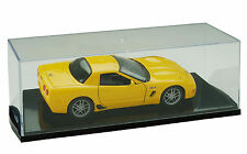 2 x 1:24 SCALE DIE CAST CAR SLANT BASE DISPLAY CASE SD24