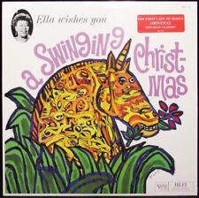 Ella Fitzgerald Wishes You A Swinging Christmas LP Holiday Vinyl Album Jazz NEW