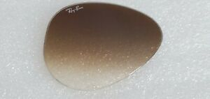 Ray-Ban RB3025 Aviator Replacement lens Brown Grad RIGHT Lens ONLY 55mm / 58mm